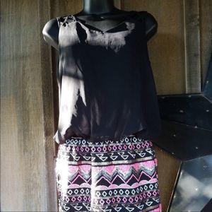 As U Wish Mini Dress Size Small NWOT